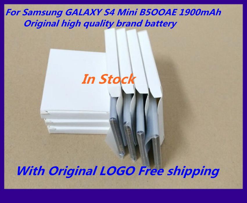 5 PCS/LOT 100% Original brand Replacement Battery For Samsung GALAXY S4 Mini B500AE I9190 I9192 I9195 I9198 Free shipping(China (Mainland))