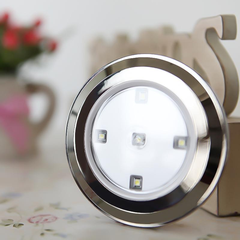 Small Battery Wall Lights : Led small night light induction lamp wall lamp kitchen cabinet lamp wardrobe lights battery ...