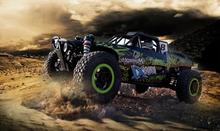 New alloy wheel drive desert racing trucks speed short-wheel-drive electric remote control toy car model(China (Mainland))