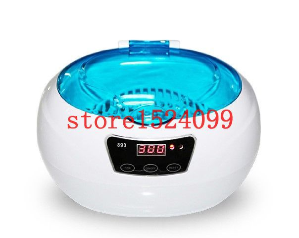 Ultrasonic cleaner 600ml jewelry watches glasses Ring cleaning machine Ring cleaner, Jewelry cleaner, Silver cleaner(China (Mainland))