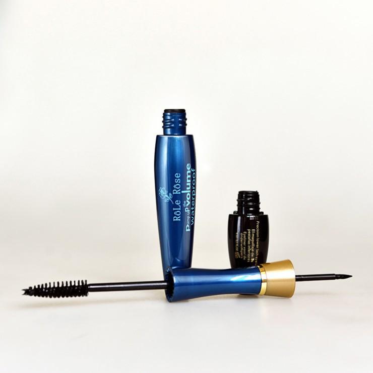 1 pcs free shipping makeup brand waterproof mascara courbe length and curl mascara noir 9.2g mascara(China (Mainland))