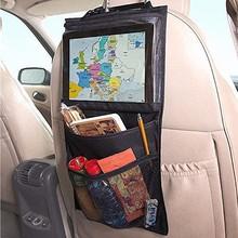 Ребенок авто ipad организатор мешок хранения путешествия автомобилей чехлы сидений организатор сумки заднем сиденье детские игрушки автомобилей стайлинг аксессуары хранения