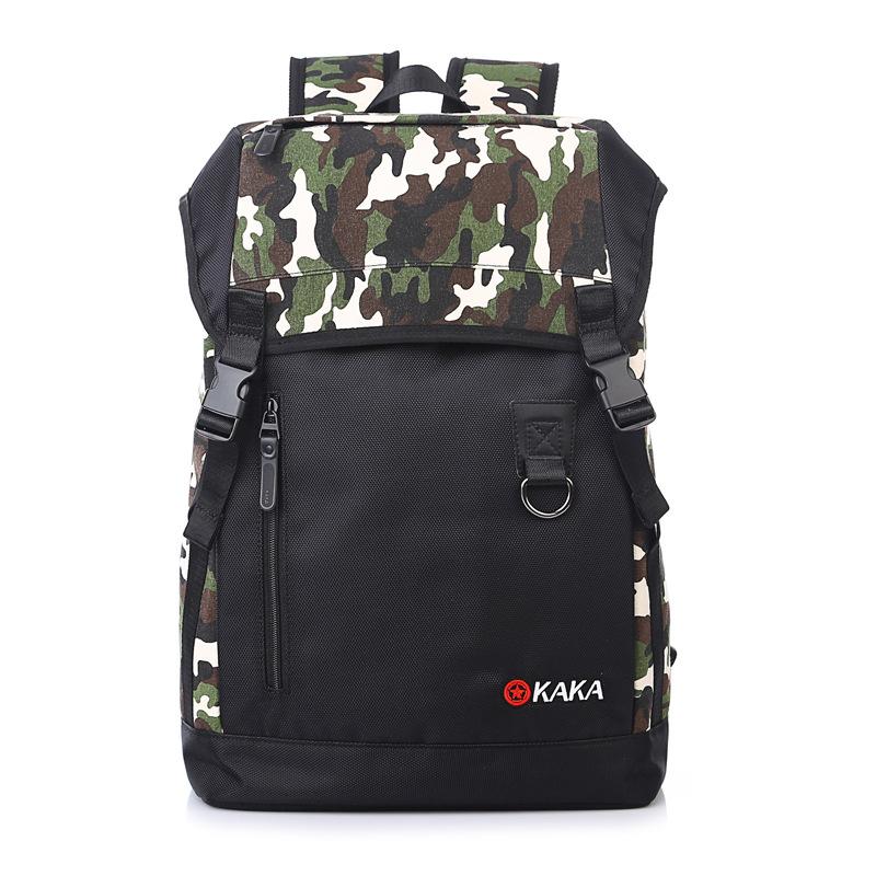 ashion men's Shoulder bags computer backpack schoolbag students tide bag leisure travel laptop backpack computer bag