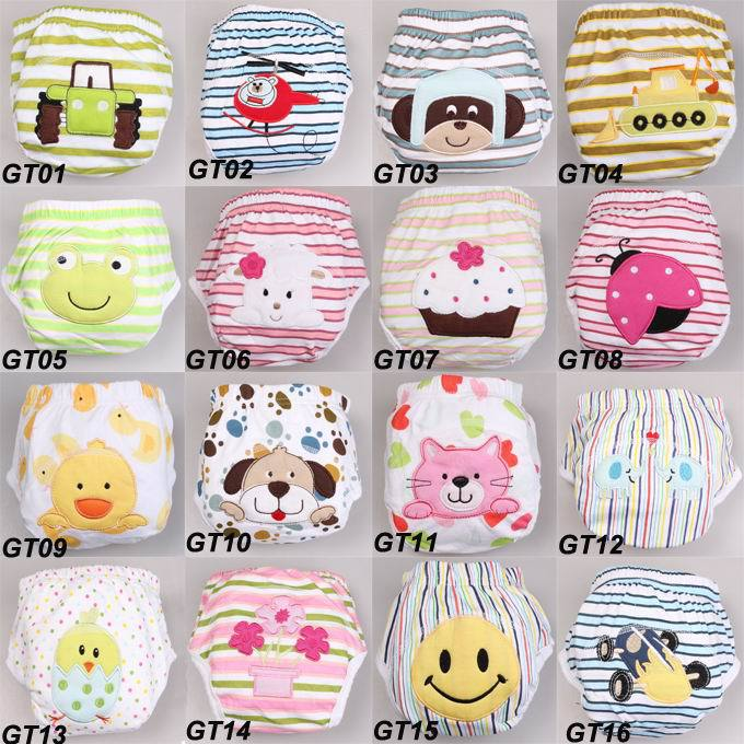 Training Pants 16Colors Available And Three Sizes Baby Toddler Wear Potty Training Factory Price(China (Mainland))