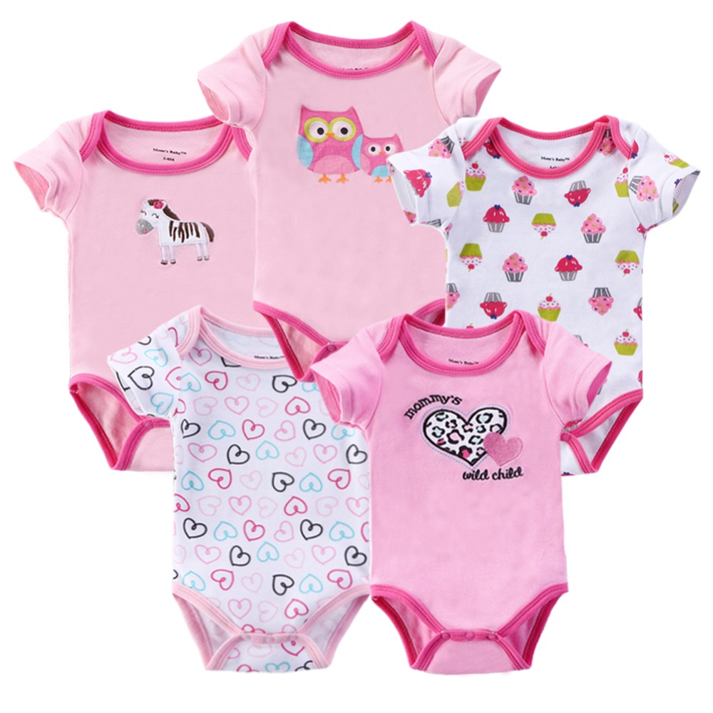 Fashion 2015 100% Cotton Carters Clothing Baby Girl Sleeveless Bodysuits Months Body Next 7Color 5Pcs/lot Free Shipping SJCP05<br><br>Aliexpress