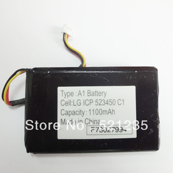 1100mah battery tomtom type a1 lg icp 523450 c1 in rechargeable batteries from electrical. Black Bedroom Furniture Sets. Home Design Ideas