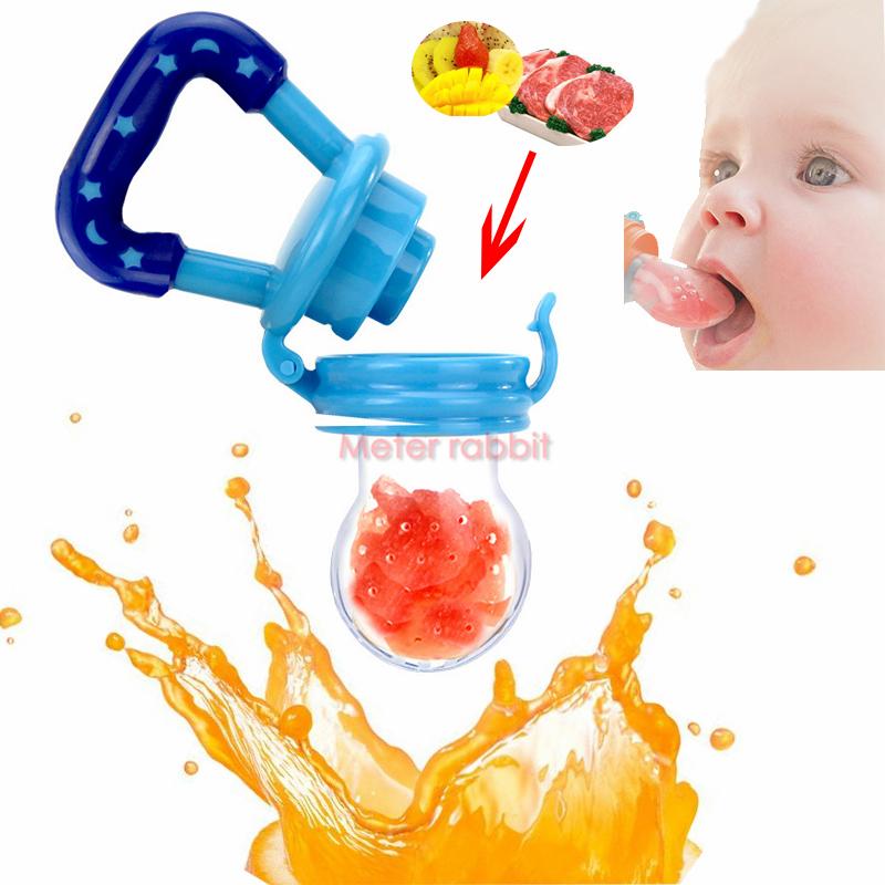 safe Baby Pacifier Soother Holder Fresh Food fruit Milk Nibbler Feeder Baby dummy Nipple Bottles bite infant Feeding Supplies(China (Mainland))