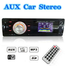 CAR VEHICLE RADIO MP3 MUSIC PLAYER STEREO IN-DASH FM USB For SD AUX INPUT RECEIVER(China (Mainland))