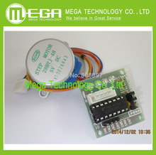 Free shipping 3Lot Stepper + ULN2003 Driver Board for AVR/ARM 5V 4-Phase 5-Wire 3 x Stepper 3 x Driver board(China (Mainland))