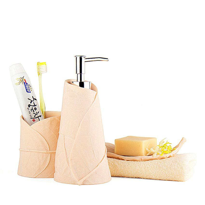 3pcs ceramic bathroom accessories bathroom set household for G style bathroom accessories