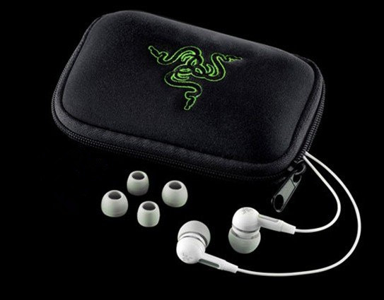 Free USPS Shipping Top Quality Razer Moray M100 headset Stereo Gaming Earphone with retail zipper box
