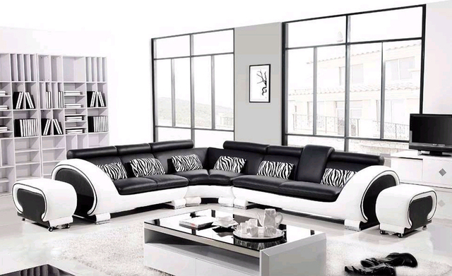 mobilier de luxe lit canap d 39 angle mobilier moderne salon. Black Bedroom Furniture Sets. Home Design Ideas