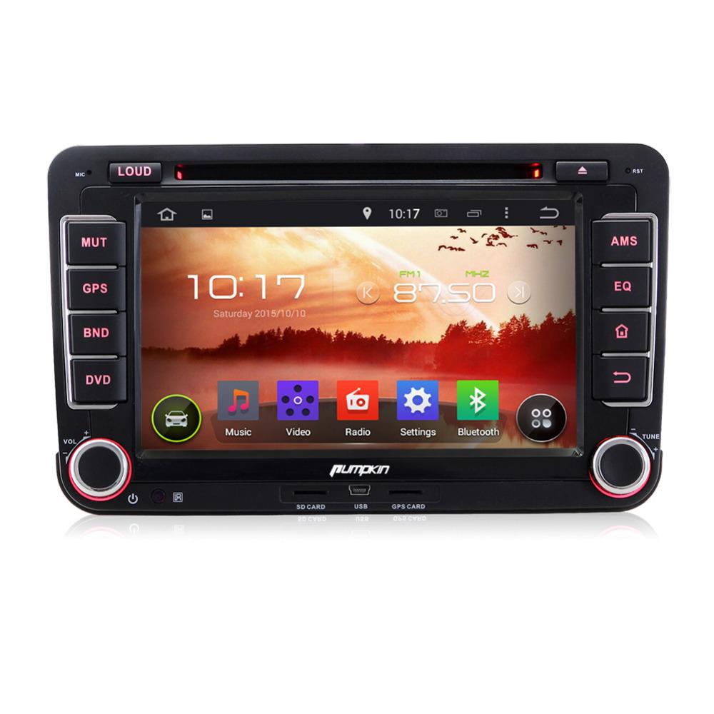 Quad Core1024*600 Android 4.4 Car DVD GPS Navigation Stereo Radio Audio For VW GOLF 5 6 Jetta Amarok Polo Caddy Leon DAB+(China (Mainland))