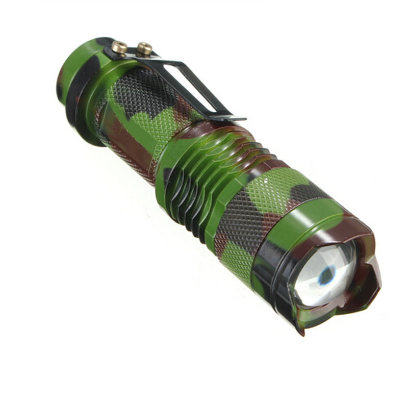 2000 LM XM-L Q5 LED Zoomable Flashlight Torch Zoom Focus Lamp Hunting Light(China (Mainland))