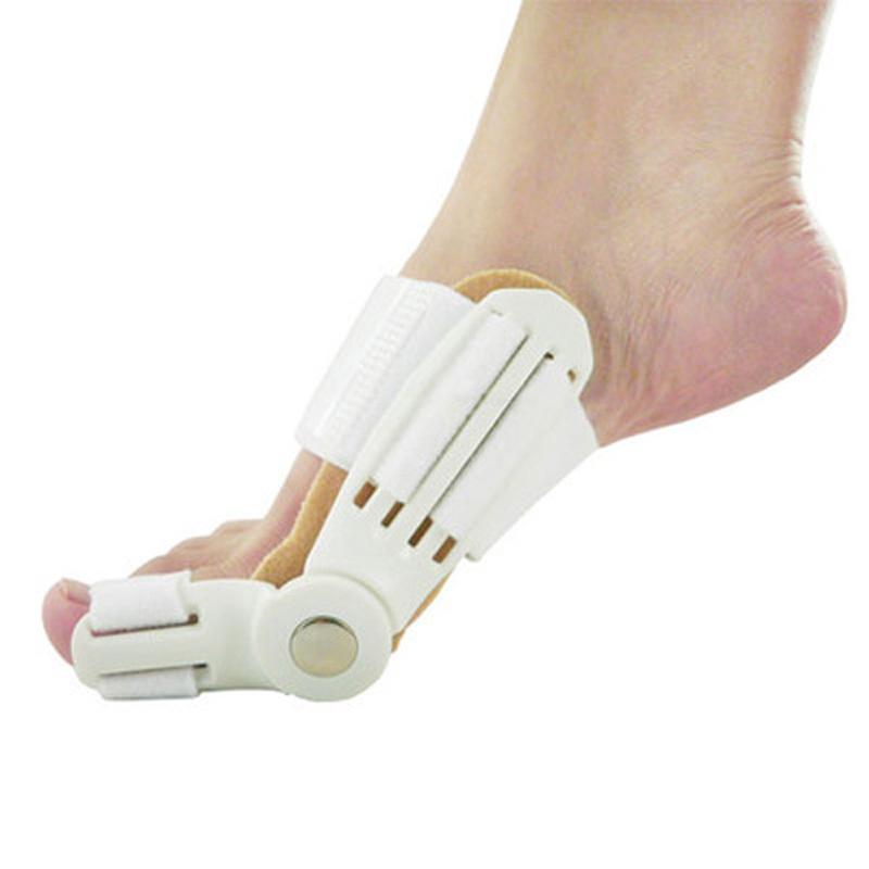 Гаджет  1pair Device feet care hallux valgus fixed thumb orthopedic valgus pro braces to correct valgus daily toe big bone Pedicure None Красота и здоровье