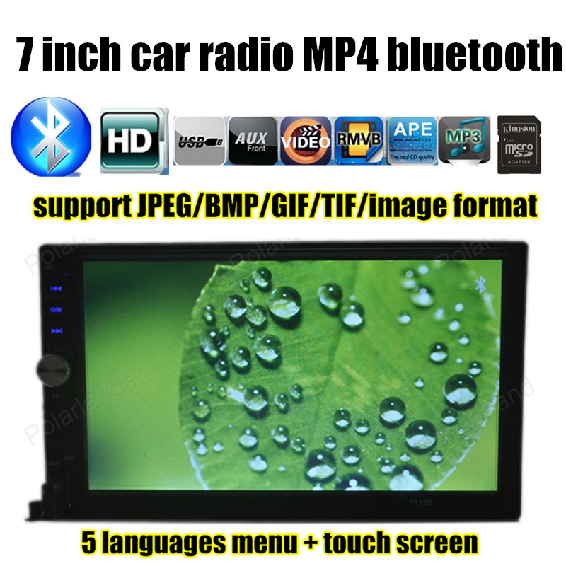 Car Audio touch screen reversing priority 7 inch HD 2 Din Universal Car MP5 MP4 USB TF Aux IN Bluetooth FM Radio