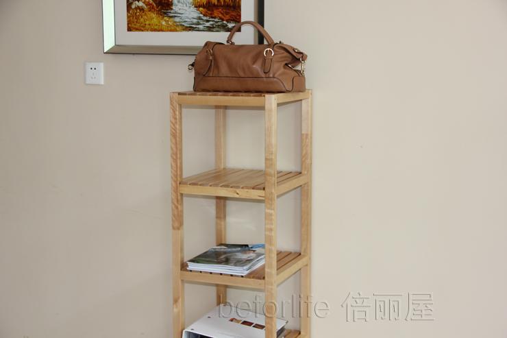 Badkamer Sanitair Ikea ~ Clapboard hout planken opbergrek plank badkamer plank ikea