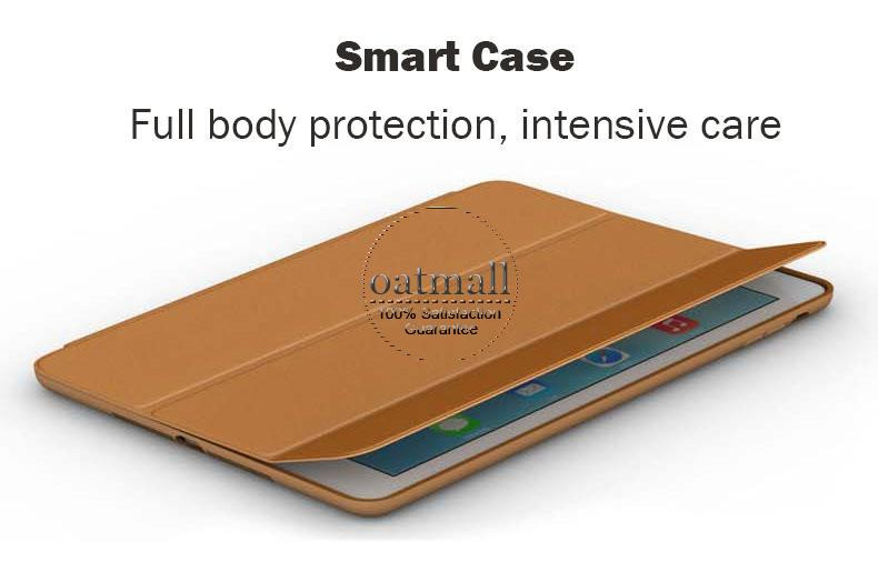 2016 ultra slim smart cover for apple ipad mini case luxury capa fundas For ipad mini3 1 2 retina original magnetic stand cases