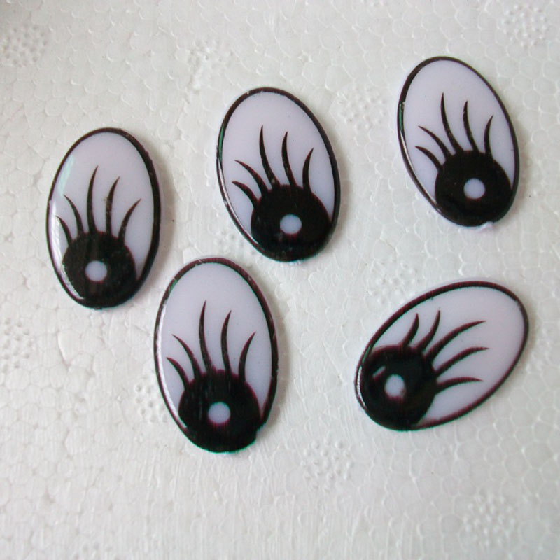 100PCs//Bag Plastic Craft Toy Doll Eyes Safety Eyes Handmade Accessories  JP