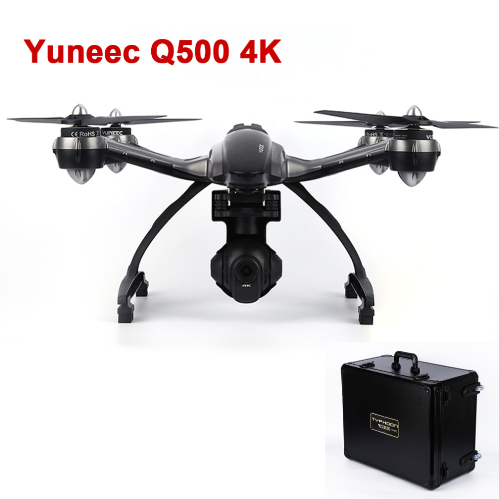 With Carry Box YUNEEC Q500 with 4K HD Camera 10CH RC FPV font b Drone b