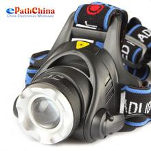 2000Lm impermeable del CREE XML T6 del zumbido LED lámpara de luz cabeza con Zoom ajuste el enfoque para bicicleta de excursión que acampa(China (Mainland))