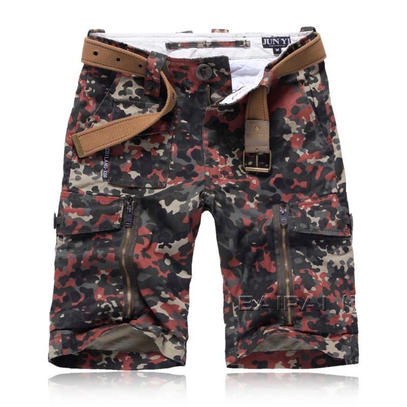 2013 Fashion Designer Mens Casual Multi Pocket Cargo Short