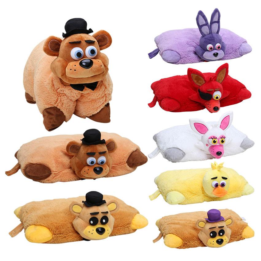 43cm 30cm Five Nights At Freddys Plush Pillow Fnaf Golden
