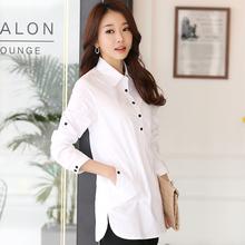 blouse shirt 2016 Women White Shirt plus size elegant blusa feminina Cotton Women's shirt Women Blouse women tops Blusas