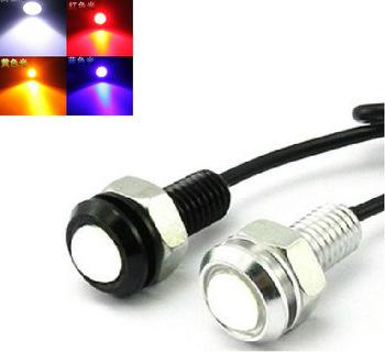 Free Shipping Car DIY 1.8Cm 9W 7000K 500-Lumen Waterproof Eagle Eye LED Daytime Running/Brake Lamps / Lights (DC 12V)