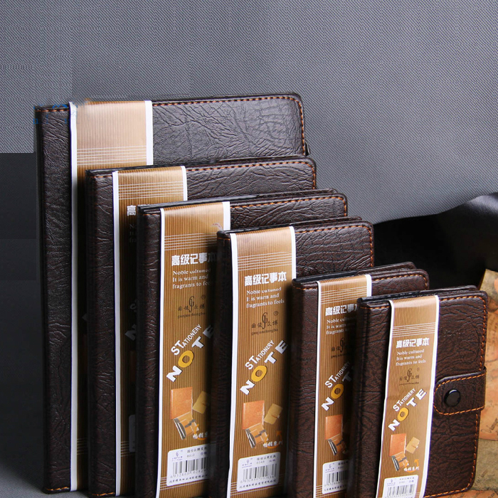 Perfect Day planner Leather Diary Business notebook paper A7 A6 A5 76 Sheets Notepad Office School Supplies Notebooks note book(China (Mainland))