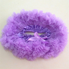 Lavender Pettiskirt for Baby Girls Cake Smash First Birthday Outfit ( 5 Pieces / lot )(China (Mainland))