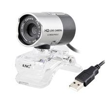 Aoni анк веб камера настольные / портативных пк ночного видения веб-камеры USB бесплатно драйвер HD камера с микрофоном веб-камера Webcamera