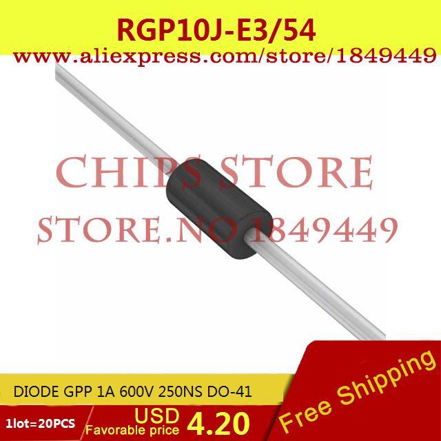 Цена RGP10J-E3/54