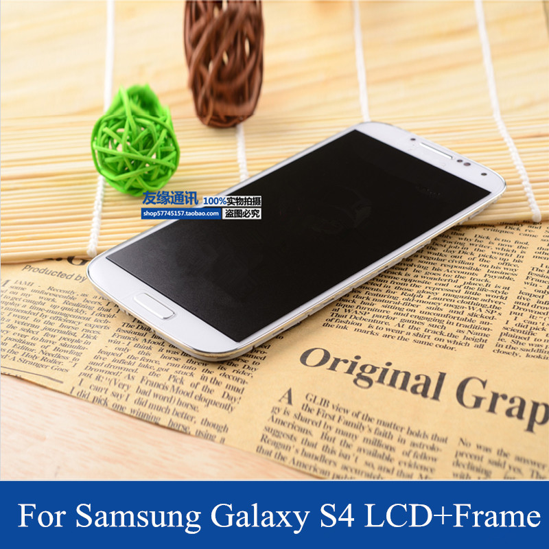 10 PCS DHL Free Shipping for Samsung Galaxy S4 LCD Screen i9500 i9505 i337 i545 m919 l720 r970