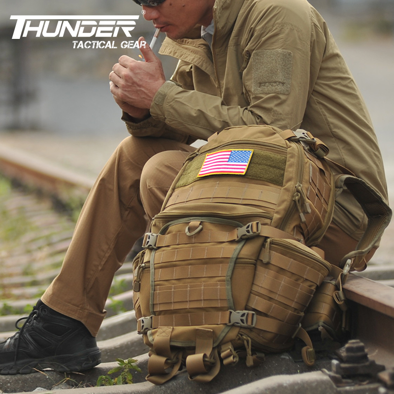 Thunder III 1000D Nylon Military Tactical Backpack hiking outdoor camping travel bag tad three generations of tactical backpack(China (Mainland))