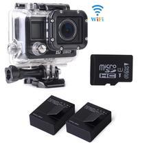 Camaras deportivas hd 1080P 20MP Wi-Fi sjcam SJ5000 Bicycle Helmet Sport Camcorder Camera+ 2 Battery + 32GB Card LF603(China (Mainland))