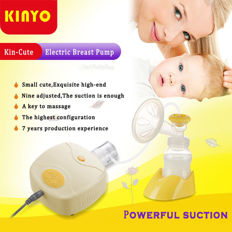 2017 KINYO in Style Advanced Powerful Suction single-Core single Side Breast Pump compete my bottle Electric Breast Pumps(China (Mainland))