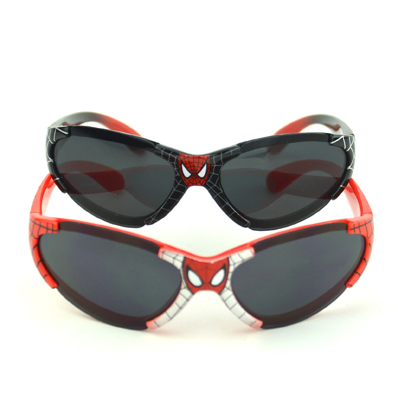Kids Sunglasses for 3-14 Years Boys Famous Brand Spiderman Sun Glasses for Children UV400 Child Sunglasses Oculos Infantil(China (Mainland))