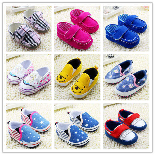 2015 fashion newborn baby girl shoes first walkers toddler boys tenis infantil new born 0-18 months freeshipping - Shopping Mall-CN store