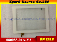 Free shipping PMP7280C 3G Tablet touch screen Touch panel Digitizer Glass 080088-01A-V2 080088-01A-V1 fpc.0800-0238-c