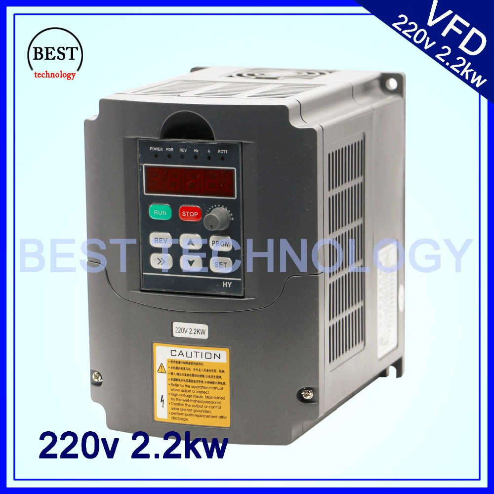 cnc spindle motor speed control 220v vfd variable