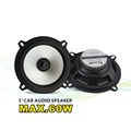 NEW free shipping LABO 5 car audio speaker full range max power 60W output woofer speaker