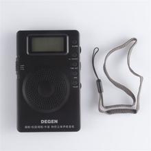 New  DE215 FM FML MW Radio Receiver Mini Handle Portable Three Bands