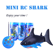 Buy Create Toys 3310B 3CH 4 Way RC Shark Fish Boat 27/40Mhz Mini Radio Remote Control Electronic Toy Kids Children Birthday Gift for $13.19 in AliExpress store