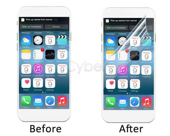Case For Iphone 6 Hd Screen Protector Cover For Iphone 6 4.7 Inch Protector Film 25(China (Mainland))