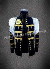 Shining jacket made in China discount one button men stage dress sequins black men stage performance men stage jacket 2015(China (Mainland))