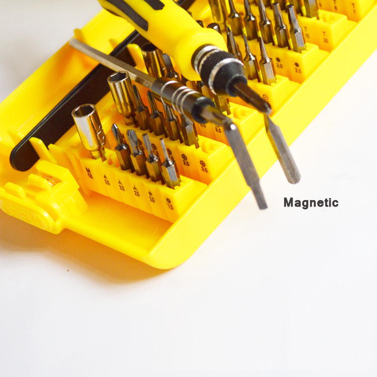 Portable 45 in 1 Repair Tools Magnetic Opening Tool Kit Screw Driver for Phone for Laptop PC(China (Mainland))