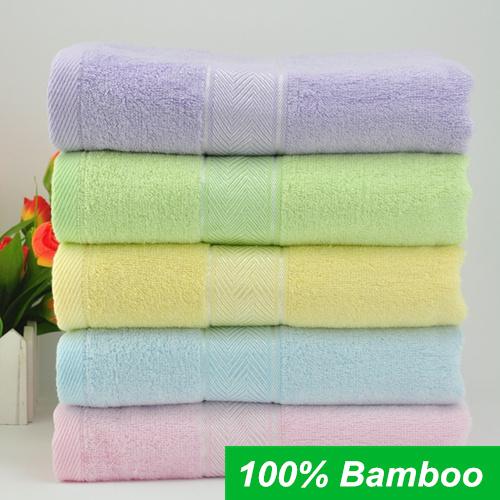 70*140cm 100% Bamboo Fiber Bath Towel Bulk Beach towel Spa Salon Wraps Terry Towels cheap bulk towel toalha 8106-3(China (Mainland))