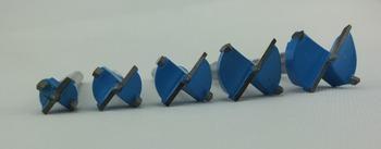 15MM,20MM,25MM,30MM,35MM Dia TCT wood holesaw set hinge sinker drill bit A specialist bit for European kitchen fittings