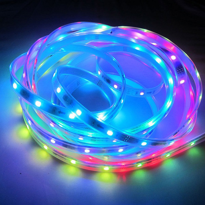 Ic dream color 5050 rgb lpd8806 magic led strip